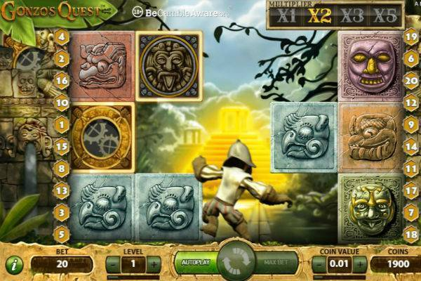 Gonzo's Quest-เกม
