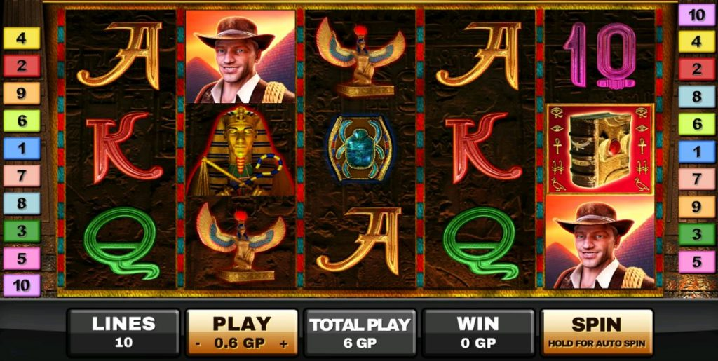 Book of Ra Deluxe-เกม